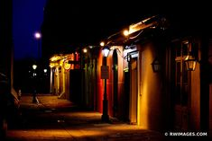 FRENCH QUARTER ALLEY AT NIGHT NEW ORLEANS LOUISIANA City Photography, Fine Art Photography, Pictures Images, Print Pictures, Wall Prints, Framed Art Prints, New Orleans Louisiana, French Quarter, Art For Sale