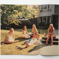 The Virgin Suicides by Corinne Day, IDEA books ltd 1999 70s Aesthetic, Summer Aesthetic, Aesthetic Pictures, The Virgin Suicides, Sofia Coppola, Out Of Touch, Teenage Dream, Retro, Film Photography