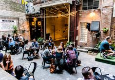 Since I Left You, Sydney CBD | Order a cocktail and head to the leafy courtyard for live music.