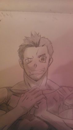 My drawing of Free from Soul Eater by Maizey Droz