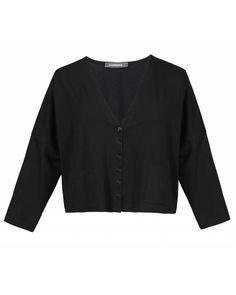 dc9919b498756 Alembika Alembika Crop Wear With Everything Jacket In Black