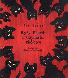 Book cover with black cats