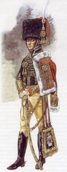 General Charles Lefbvre-Desnouettes (1773-1822), commanded a cavalry division for Napoleon at Waterloo.
