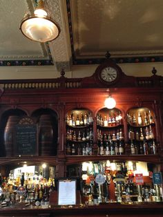 The towering gantry at Bennet's (Edinburgh).