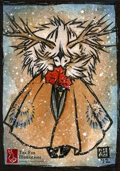 Autumn's Past [ACEO] by sarah-grey.deviantart.com on @deviantART