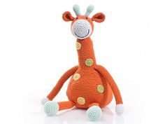 Great gift idea; Crochet Animal Dolls by Pebble