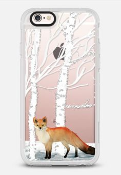 MR. WINTER FOX by Monika Strigel iPhone 6s case by Monika Strigel | Casetify