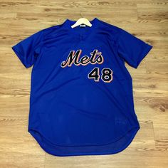Vintage New York Mets Rawlings PullOver Baseball Jersey by VNTGvault on Etsy 2a9446c82