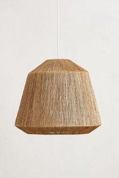 Anthropologie Bungalow Pendant Lamp, Small #anthrofav #greigedesign