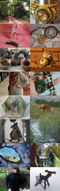 A walk on the wild side by Rosemary Grayson on Etsy--Pinned with TreasuryPin.com