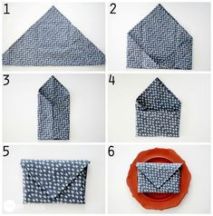 Napkin Folds - 15 Folding Tutorials for Special Occasions Diy Wedding Napkins, Wedding Napkin Folding, Paper Napkin Folding, Folding Napkins, Serviettes Roses, Deco Table Noel, Thanksgiving Diy, Simple Centerpieces, Sofa Styling