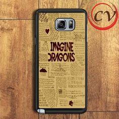 Imagine Dragons Lyric Samsung Galaxy Note 5 Case