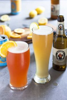 Beer Cocktail Recipes, Beer Recipes, Summer Shandy, Summer Drinks, Beer Mixed Drinks, Beer Christmas Gifts, Cooking With Beer, Glass Beer Mugs, Beer Tasting