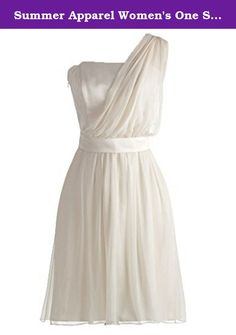Summer Apparel Women's One Shoulder Short Prom Bridesmaid Evening Party Dress XXXXX-Small. This prom dress is made in high quality organza sweetheart neckline,with crystals and sequin decorated Click our ASBridal above the title to see more beautiful various occasion dresses. Dry clean only. Back with zipper, natural waistline, built in bra Please Use the Sizing Chart Image on the Left,If you have any doubts about your size, please contact us freely.