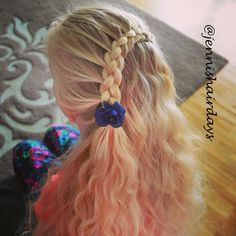 Got some beautiful waves from yesterday's dutch braid. #fourstrand #lacebrade #waves #blondhair