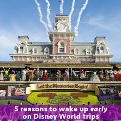 5 reasons why you might want to consider waking up early during your Walt Disney World trip