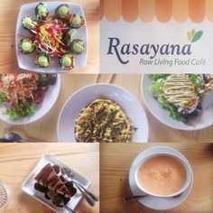 Raw Vegan in Bangkok??? It's the wonderful truth at @rasayanaretreatbkk!! By some amazing chance and a well worded Google search I came across this health food Oasis in the midst of Bangkok's many temptations.  Rasayana Retreat is a restaurant spa and retreat center focused on healthy and restorative living in a city where excess and indulgence are the norm and we could not have had a better experience!  The menu is entirely raw vegan and gluten free not to mention delicious and aromatic…