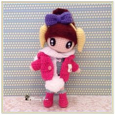 Little girl by the name Nuan Nuan in winter clothing ~ 可爱的暖暖