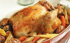 Ψητό κοτόπουλο με δενδρολίβανο