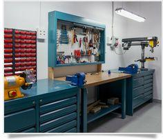 Cómo tener tu taller, garaje o trastero bien organizado                                                                                                                                                     Más