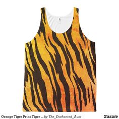 Shop Orange Tiger Print Tiger Pattern Shirt created by The_Enchanted_Aunt. Hipster Outfits, Hipster Fashion, Cool Outfits, Hipster Clothing, Art Clothing, Hipster Women, Animal Print Outfits, Tiger Print