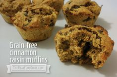 Grain-free muffin recipe: Great for transitioning to a grain-free, gluten-free or paleo lifestyle - The Real Food Guide