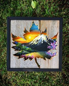 Your daily dose of Inspiration: Maple Rise Pallet Art, Diy Pallet Projects, Wood Projects, Pallet Ideas, Woodworking Projects, Wooden Wall Art, Wood Art, Wood Wood, Pallette