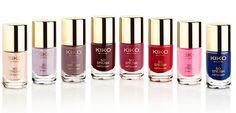 Kiko nail lacquer set Christmas collection