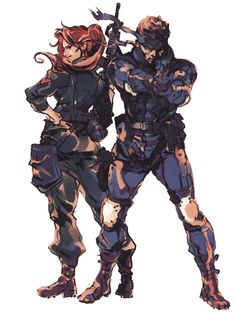 Metal Gear Solid Solid Snake
