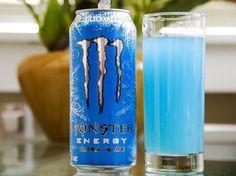 Monster Energy Drink, Ultra Blue, Cans (Pack of Monster Energy Gear, Monster Energy Girls, Love Monster, Bebidas Energéticas Monster, Red Bull Drinks, Best Energy Drink, Rockstar Energy Drinks, Monster Crafts, Drink Signs