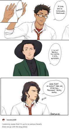 The Marauders and McGonagall
