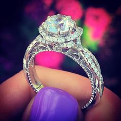 Verragio engagement ring - perfect for a true princess!
