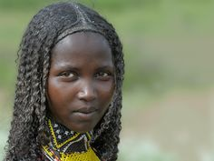 Oromo girl, Ethiopia. This is the XENSE demo site. Tribal African, African Tribes, African Women, African Nations, Tribal Women, Tribal People, African Girl, African Braids, Beautiful Black Women