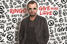 "I wish you as Ringo is so fond of saying, ""Peace and love, peace and love."" Doesn't he look amazing and so healthy? Can't believe he's 77! Still working, still trying …"