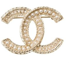 Chanel Large Faux Pearl And Matte Gold Tone Cc Logo Brooch (45,395 DOP) ❤ liked on Polyvore featuring jewelry, brooches, multiple, chanel jewellery, faux pearl jewelry, logo jewelry, pin brooch and pin jewelry