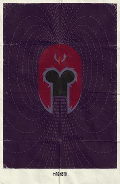 minimalist posters - magneto