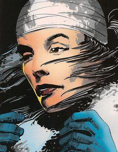 Elektra back from the dead. Frank Miller, Klaus Janson.