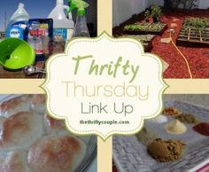 Thrifty Thursday Link Party #19- come link up your recipes, diy, crafts and more on our linky party!