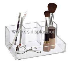 Custom acrylic makeup display stand plexiglass display counter display CO-104