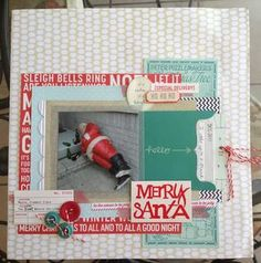 Merry Santa by Fragola at Studio Calico