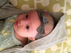 30 Second DIY Baby Headband