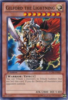 Amazon.com: Yu-Gi-Oh! - Gilford the Lightning (LCJW-EN041) - Legendary Collection 4: Joey's World - 1st Edition - Common: Toys & Games