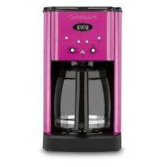 I kinda like the idea of a hot pink coffee maker