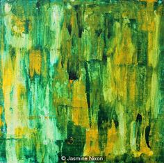 Abstract 1 - Modern Abstract Art - Acrylic on Canvas Board