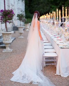 Gorgeous shot of our Bride captured by looking out at her intimate yet magical reception dinner as featured in Grace Ormonde Linen Rentals, Groom Attire, Color Theory, Videography, Event Design, Event Planning, Special Events, Wedding Styles, Floral Design