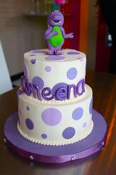 Barney Birthday Cakes For Kids