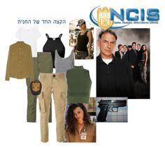 """""""Ziva David - NCIS"""" by sally-a-chapman ❤ liked on Polyvore featuring Co