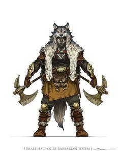 https://www.artstation.com/artwork/female-half-ogre-barbarian