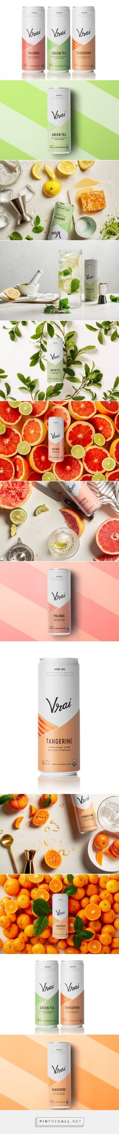 Vrai Vodka Cocktails - Packaging of the World - Creative Package Design Gallery - http://www.packagingoftheworld.com/2017/07/vrai-vodka-cocktails.html