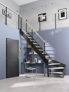 Epingle Par Galenne Sur Escaliers En 2020 Bureau Sous Escalier